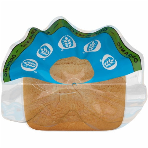 Brownberry® Organic White with Whole Wheat Bread Perspective: top