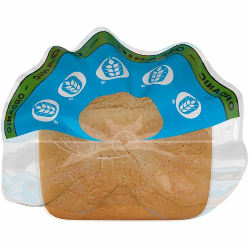 Oroweat® Organic White Made with Whole Wheat Bread Perspective: top