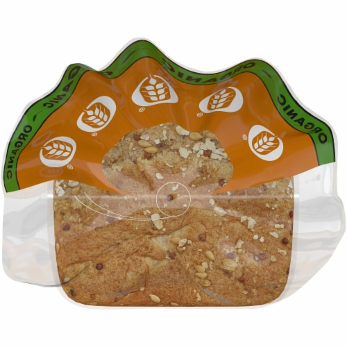 Brownberry® Organic Thin-Sliced Sprouted Wheat Bread Perspective: top