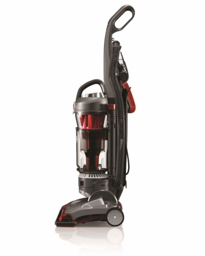 Hoover® WindTunnel 3 High Performance Pet Vacuum - Red/Black Perspective: top