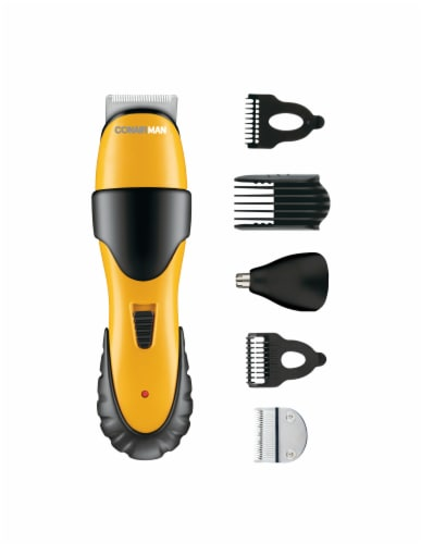 Conair Man No-Slip Grip All-in-1 Beard and Mustache Trimmer Perspective: top