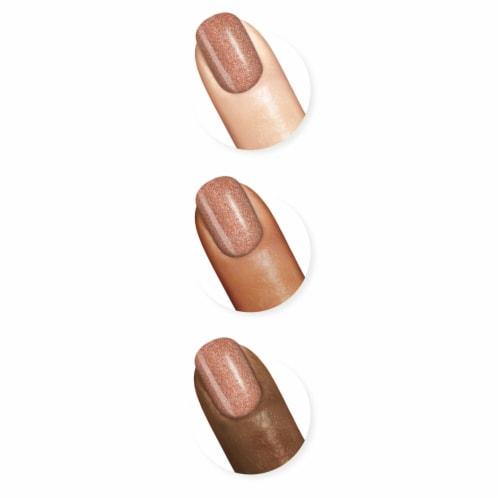 Sally Hansen Miracle Gel Terra-Coppa Nail Polish Perspective: top