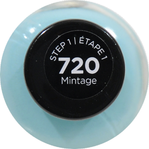 Sally Hansen Miracle Gel 720 Mintage Nail Polish Perspective: top