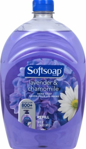 Softsoap Lavender & Chamomile Hand Soap Refill Perspective: top
