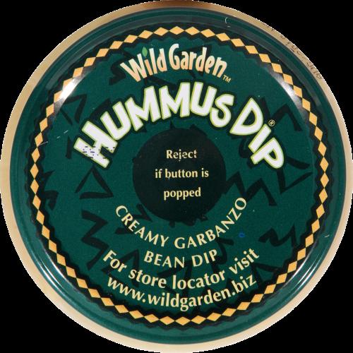 Wild Garden Traditional Hummus Dip Perspective: top