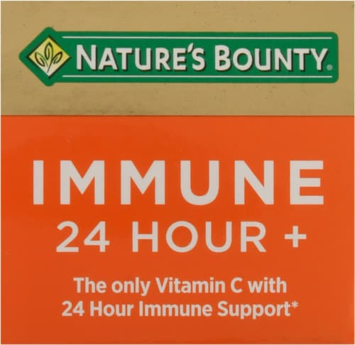 Nature's Bounty® Immune 24 Hour+ Dietary Supplement Softgels Perspective: top