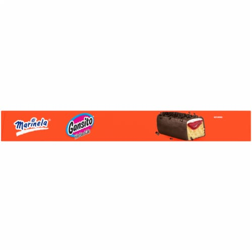 Marinela Gansito Snack Cakes Perspective: top