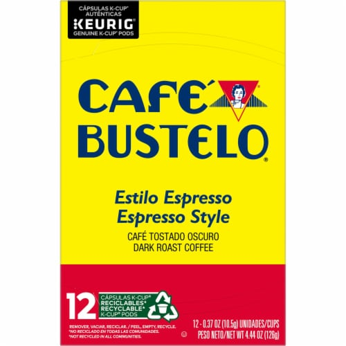 Cafe Bustelo® Espresso Style Coffee K-Cup Pods Perspective: top