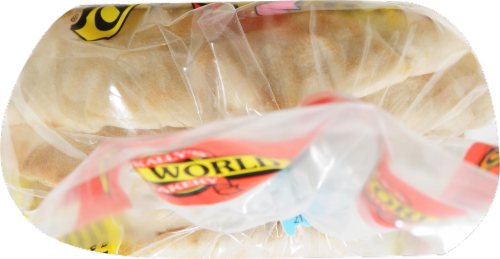 Old World Bakery White Pita Bread Perspective: top