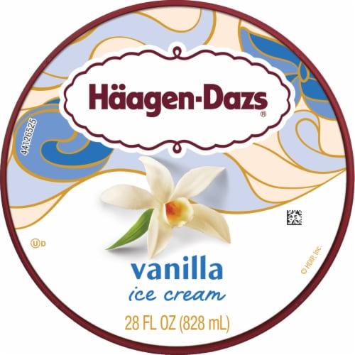 Haagen-Dazs Vanilla Ice Cream Perspective: top