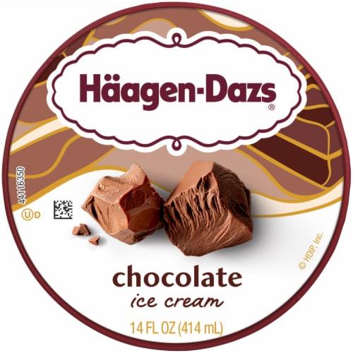 Haagen-Dazs® Gluten Free Chocolate Ice Cream Perspective: top