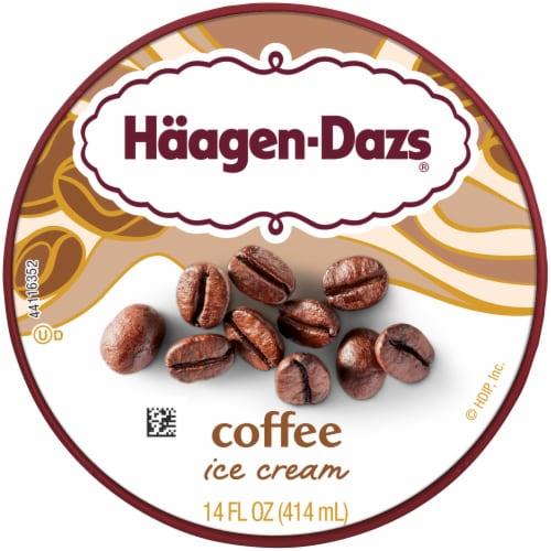 Haagen-Dazs® Gluten Free Coffee Ice Cream Perspective: top