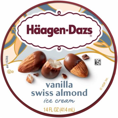 Haagen-Dazs® Vanilla Swiss Almond Ice Cream Perspective: top