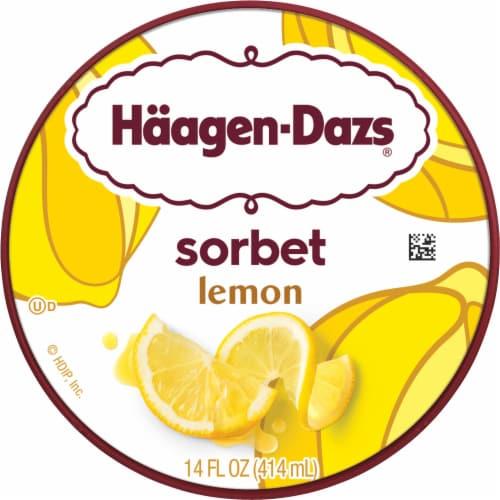 Haagen-Dazs® Lemon Sorbet Perspective: top