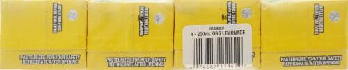 R.W. Knudsen Organic Lemonade Juice Box Perspective: top