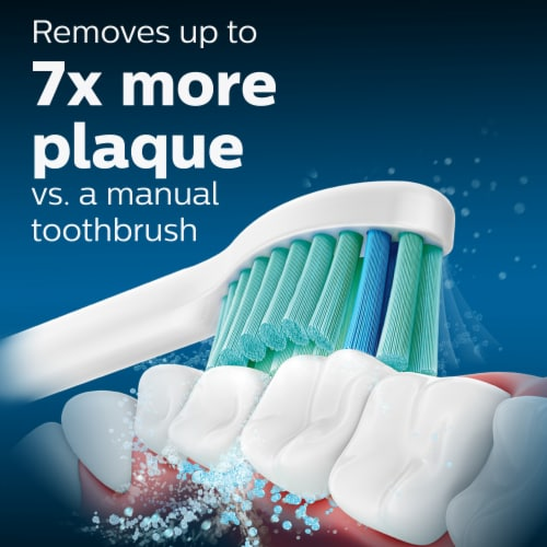 Philips Sonicare C2 Optimal Plaque Control Brush Heads Perspective: top