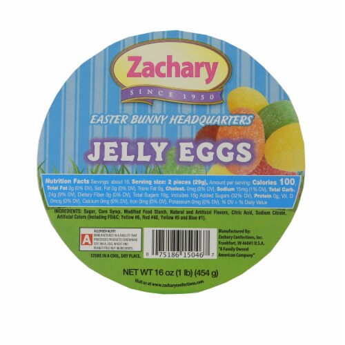 Zachary Jelly Eggs Candy Perspective: top