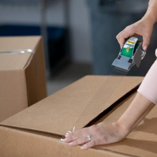 Duck® EZ Start One Handed Packaging Tape Dispenser Perspective: top