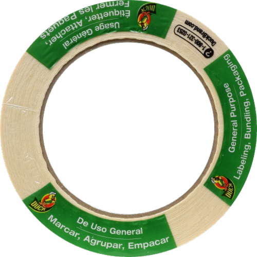 Duck® Brand General Purpose Masking Tape - Tan Perspective: top