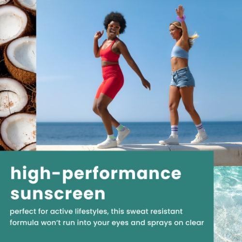 Hawaiian Tropic Island Sport Ultra Light Spray Sunscreen SPF 50 Perspective: top