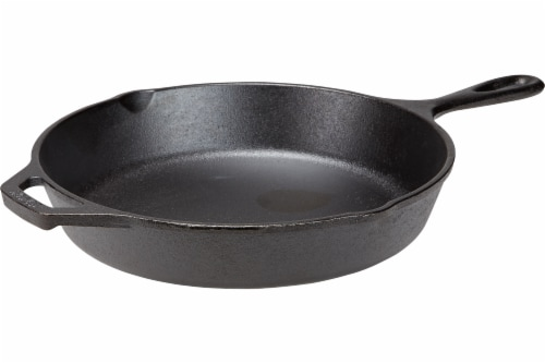 Lodge Skillet with Assist Handle - Black Perspective: top