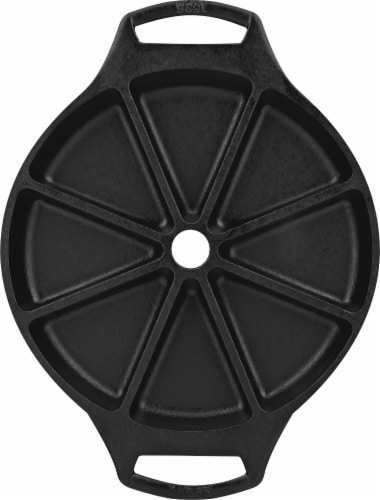 Lodge Seasoned Cast Iron Wedge Pan Perspective: top