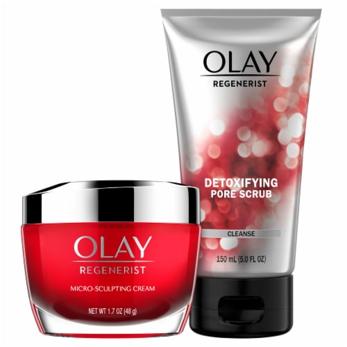 Olay Regenerist Advanced Anti-Aging Cleanser and Moisturizer Duo Pack Perspective: top