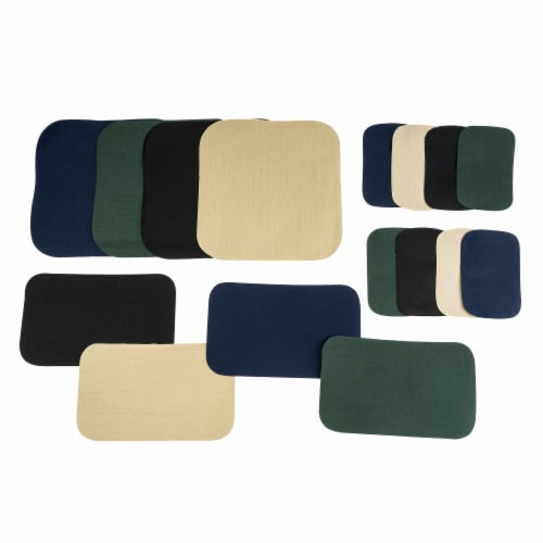 SINGER Iron-On Repair Patch Kit - Assorted Colors Perspective: top
