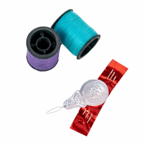 SINGER Polyester Hand Sewing Thread Spools - Assorted Dark Colors Perspective: top