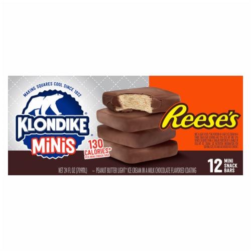 Klondike Minis Reese's Snack Bars Perspective: top