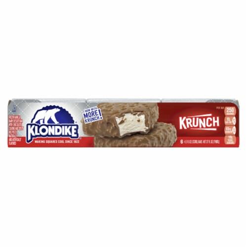 Klondike Krunch Ice Cream Bars Perspective: top