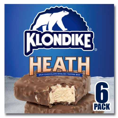 Klondike Heath Ice Cream Bars Perspective: top