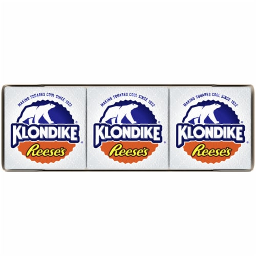 Klondike Reese's Peanut Butter Cup Ice Cream Bars Perspective: top