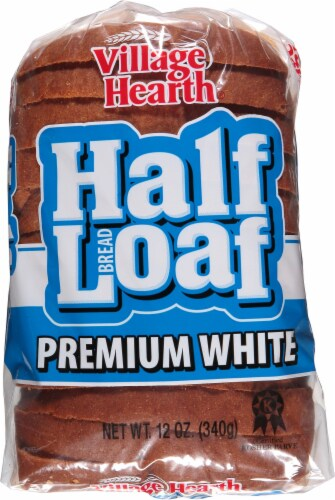 Village Hearth Premim White Half Loaf Perspective: top