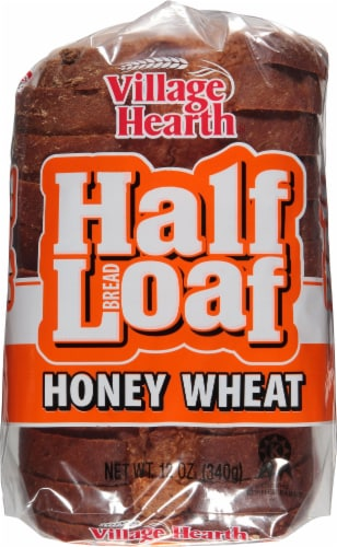 Village Hearth Honey Wheat Half Loaf Perspective: top