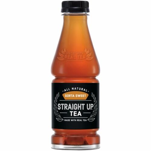 Straight Up Tea All Natural Sorta Sweet Black Tea Perspective: top