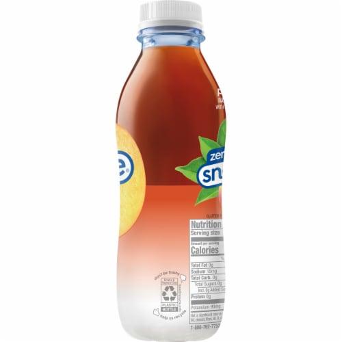 Diet Snapple® Peach Iced Tea Perspective: top