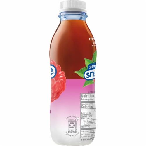 Diet Snapple Raspberry Iced Tea Drink Perspective: top