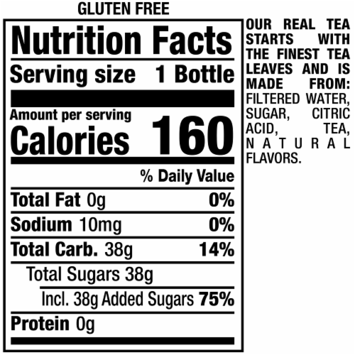 Snapple All Natural Takes 2 to Mango Tea Drink Perspective: top