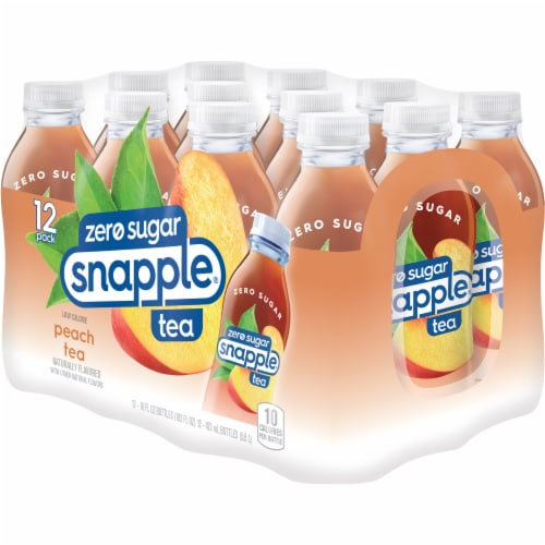 Snapple Diet Peach Tea Perspective: top