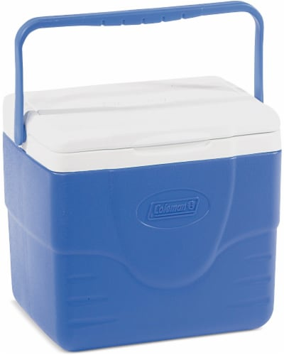 Coleman Excursion Cooler - Blue Perspective: top