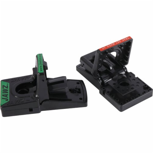 JT Eaton Jawz Mechanical Mouse Trap (2-Pack) 409 Perspective: top