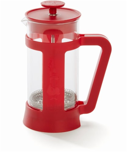 Bialetti Simplicity French Coffee Press - Red Perspective: top