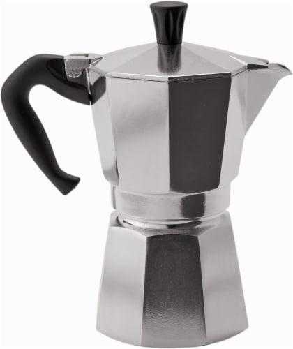Bialetti Moka Express Espresso Maker - Silver Perspective: top
