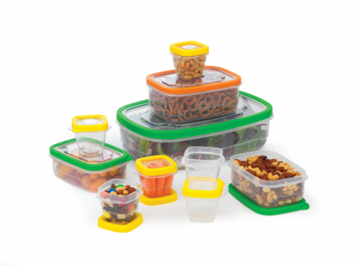 GoodCook® Flex Trim Food Storage Value Pack Perspective: top