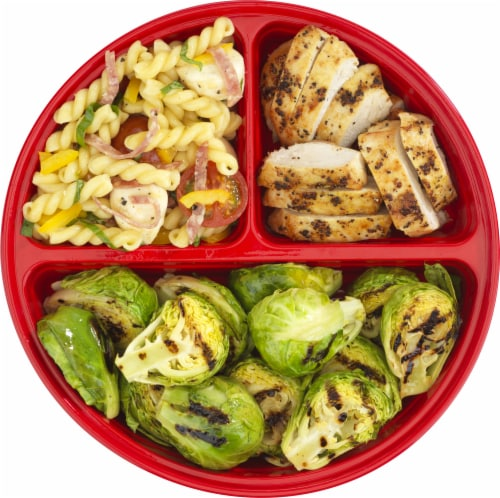 GoodCook® Meal Prep Food Storage Containers - Red Perspective: top