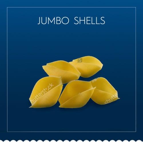 Barilla® Jumbo Shells Pasta Perspective: top