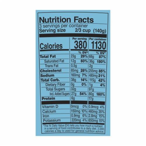 Ben & Jerry's Caramel Chocolate Cheesecake Truffles Ice Cream Perspective: top