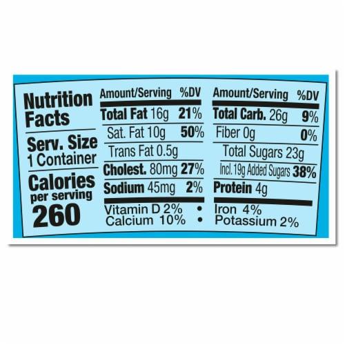 Ben & Jerry's Cherry Garcia Ice Cream Perspective: top
