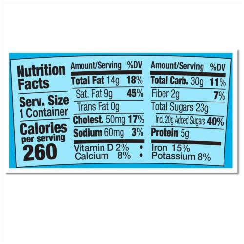 Ben & Jerry's Chocolate Fudge Brownie Ice Cream Perspective: top